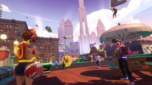knockout city dodgeballspiel zum launch kostenlos zocken
