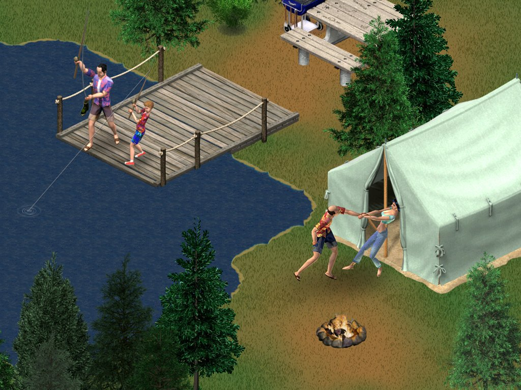 Die Sims treffen Robin Hood: Urlaub total - neue Bilder