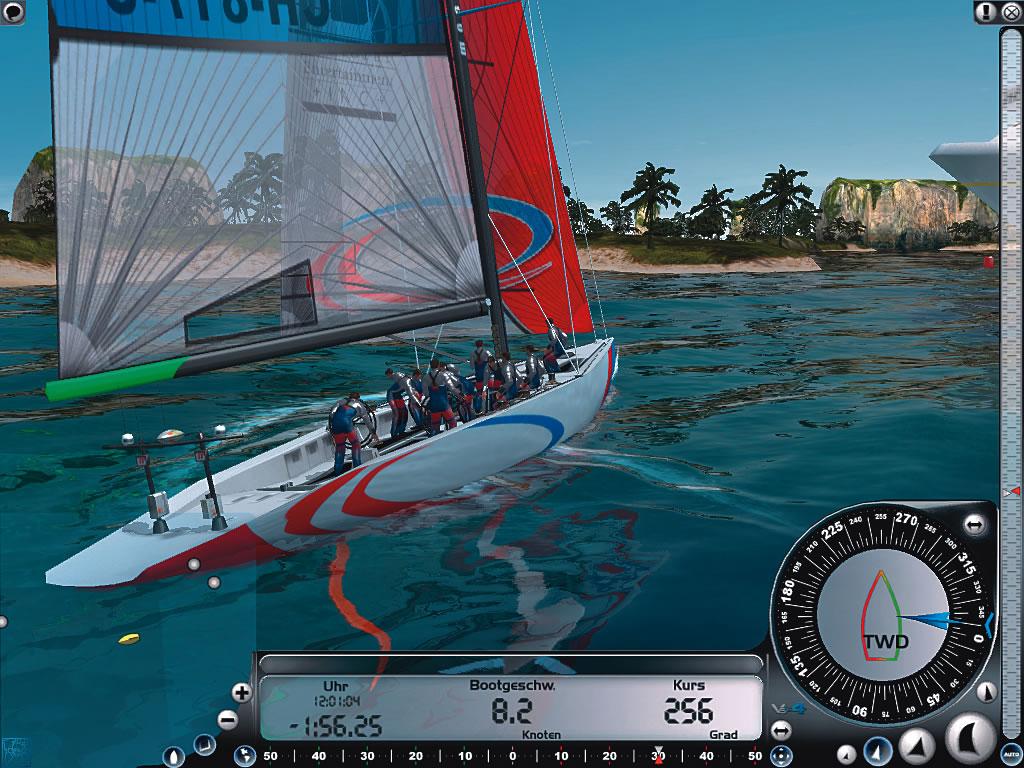 Tests zu Virtual Skipper 4