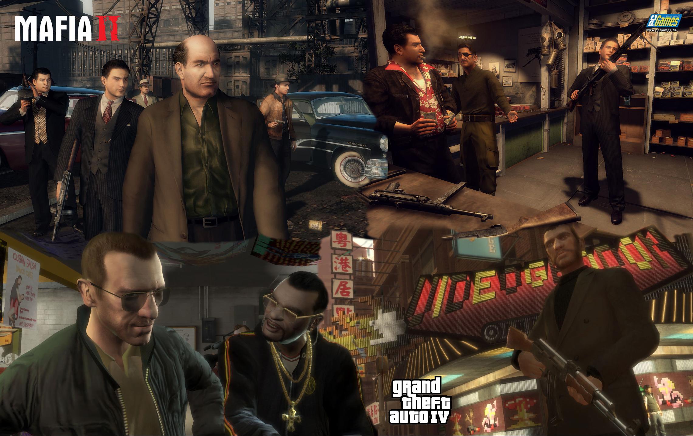 Mafia II vs. GTA IV: Next-gen vs. styl?