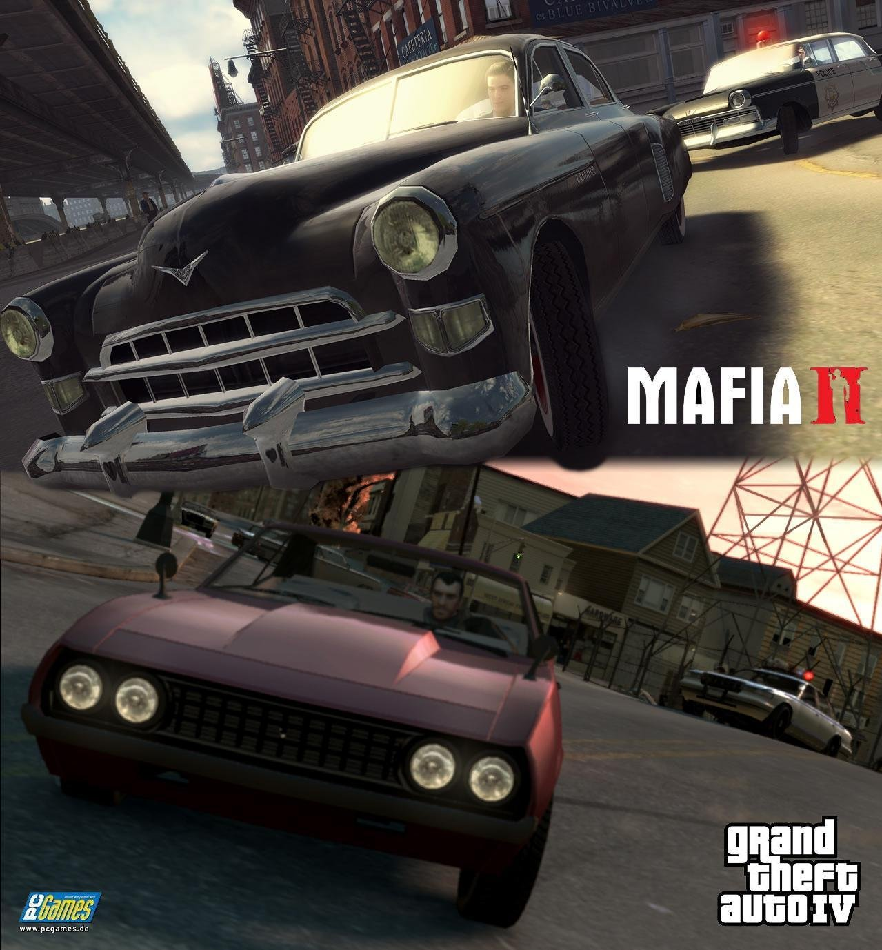mafia 2 vs gta 4 graphics comparison system wars gamespot. Black Bedroom Furniture Sets. Home Design Ideas