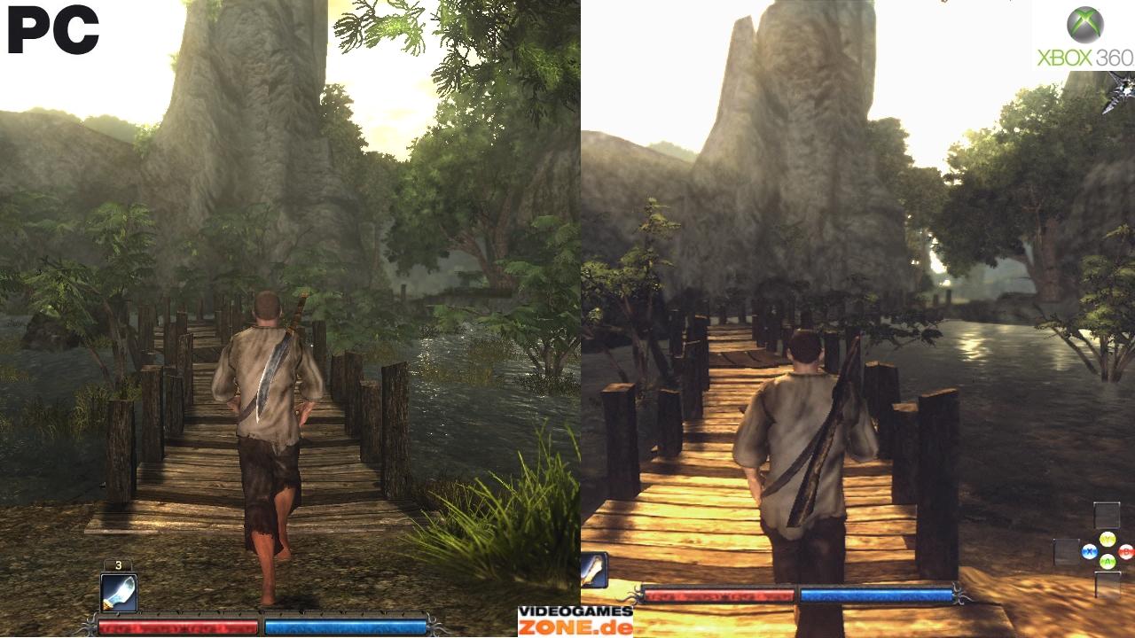 [PCG]Risen in the graphics comparison: Xbox 360 loses a ...
