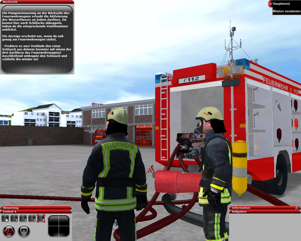 Feuerwehr-Simulator 2010: Erste Screenshots zur astragon ...