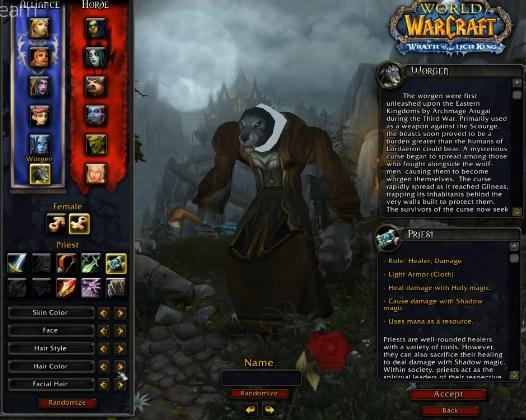 Бесплатный сервер игры World of Warcraft: WoW Circle.