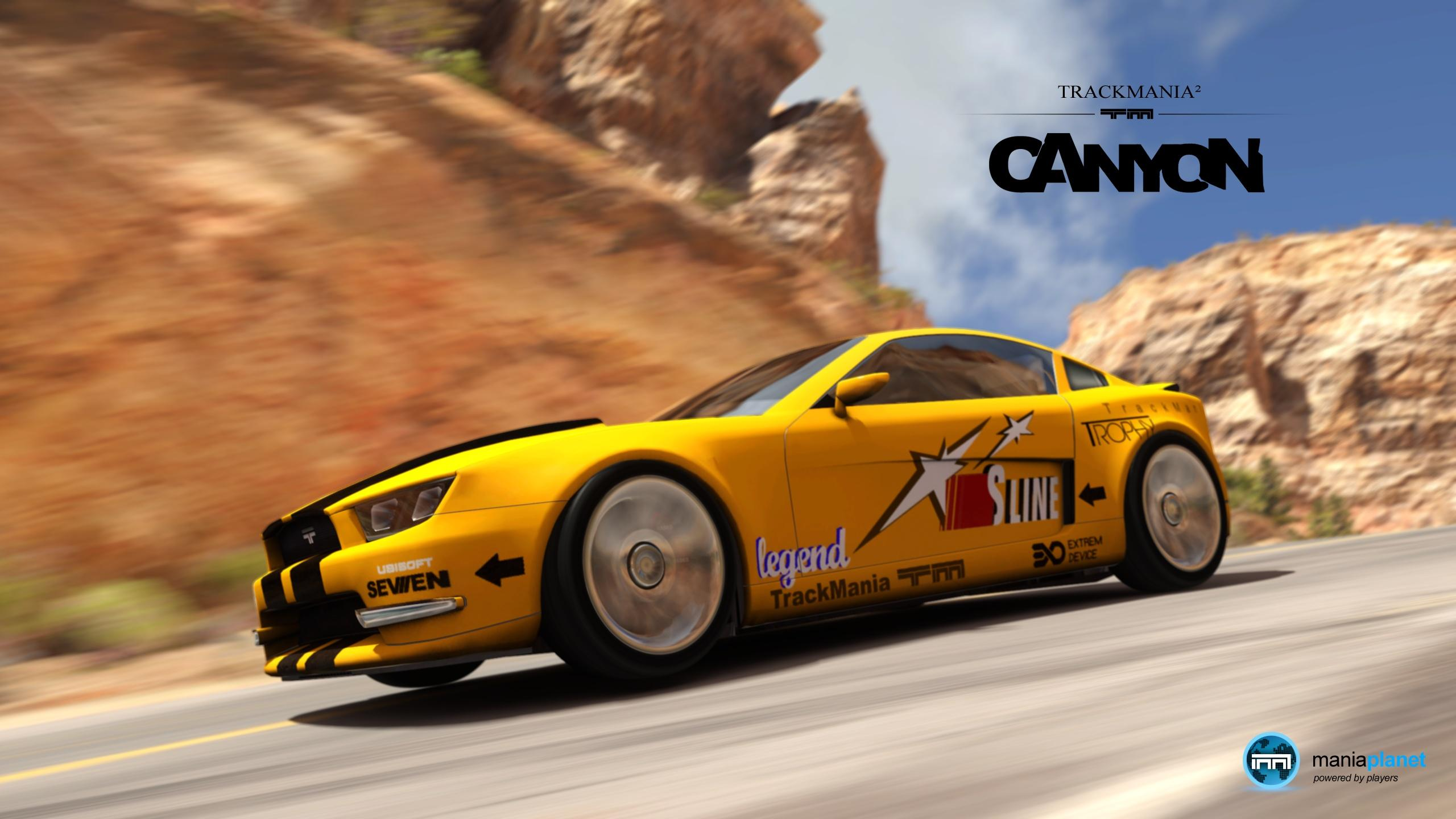 TrackMania 2 Canyon Logo