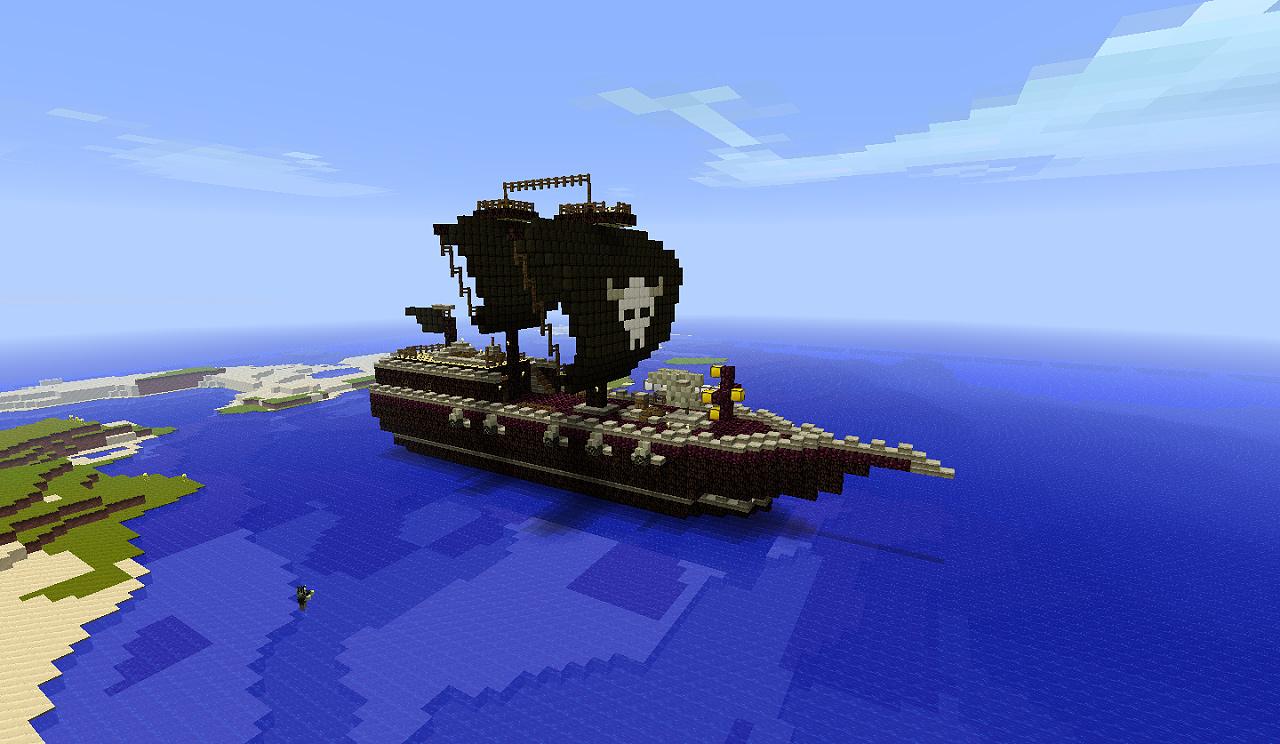 Pirate Ship Minecraft Tutorial
