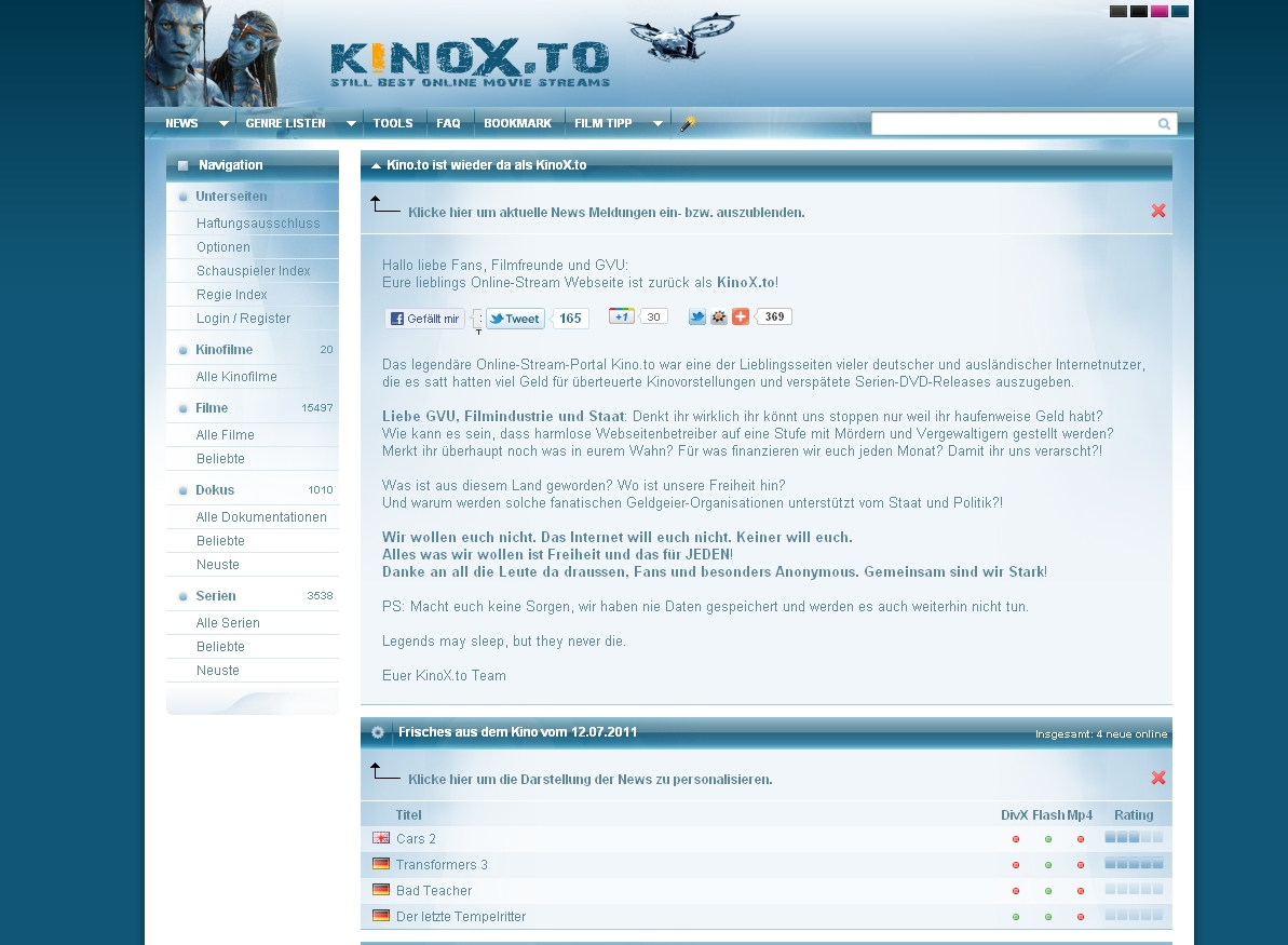 The Game Kinox