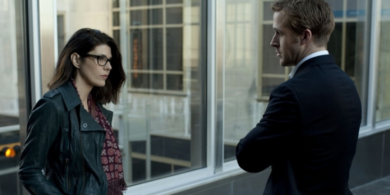 "Marisa Tomei und Ryan Gosling in ""The Ides Of March"""