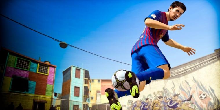 FIFA 18 mit FIFA Street? Gamescom-Demo offenbar mit Straßenfußball