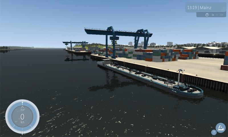 schiff simulator 2012 binnenschifffahrt