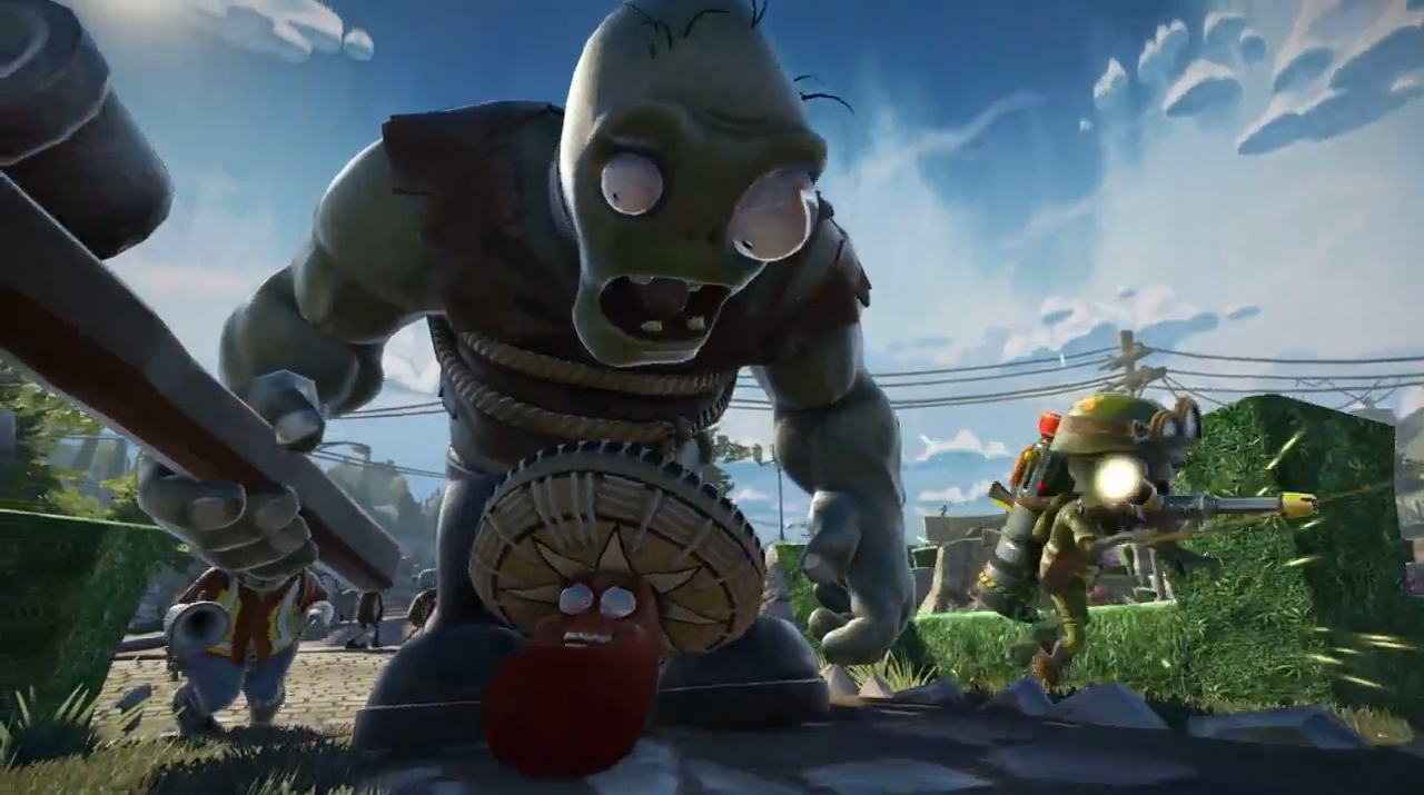 Plants Vs Zombies Garden Warfare Splitscreen Nur In Der Xbox One Version