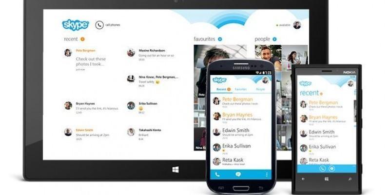 neue skype version