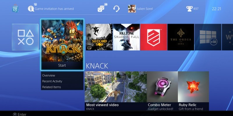 Sky Auf Playstation 4