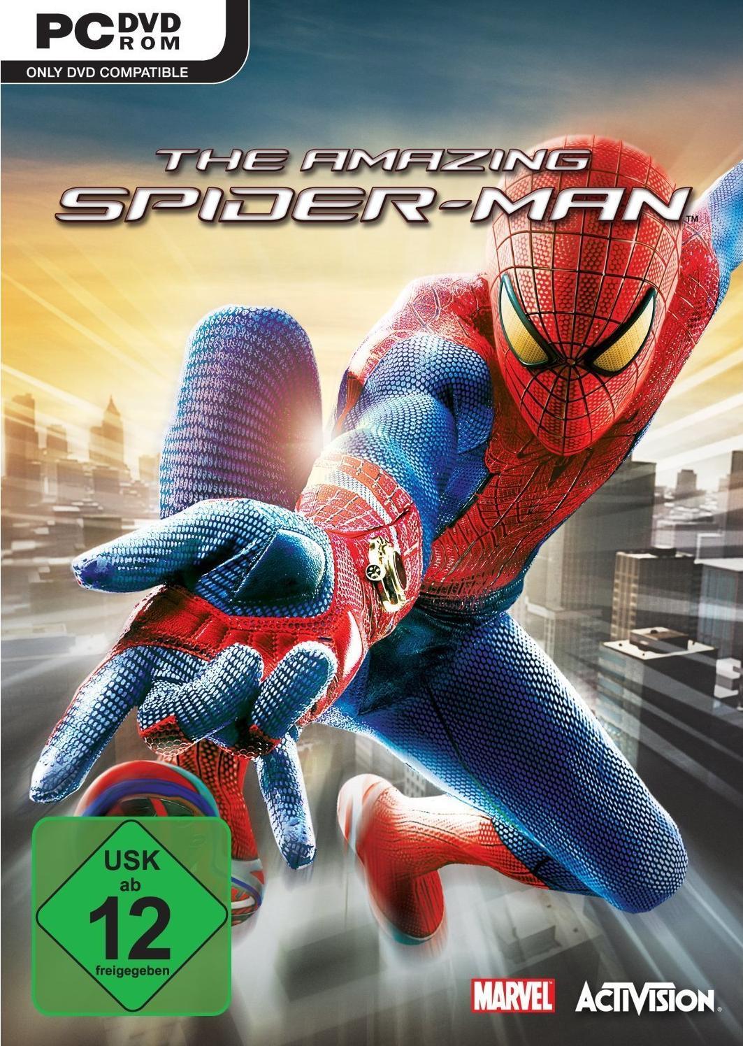 amazing spiderman spiele