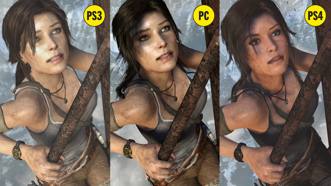 Tomb Raider (2013) Extras Concept Art Characters HD 1080p