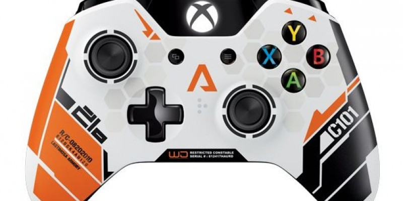 Xbox One Controller Titanfall-Design