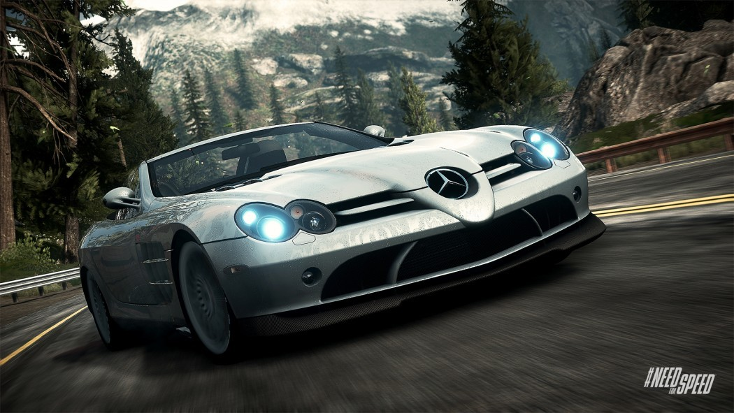 Need For Speed Hot Pursuit Voiture Mercedes Benz