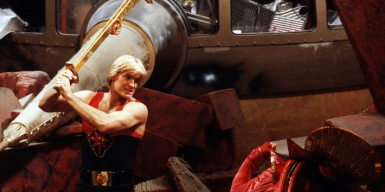 "Sam J. Jones in/als ""Flash Gordon"" (1980) (Bild: Centfox)"