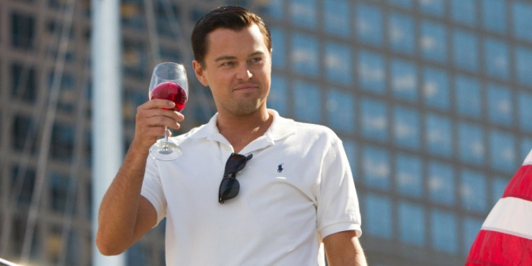 "Leonardo DiCaprio in ""The Wolf of Wall Street"" (2014) (Bild: Universal)"