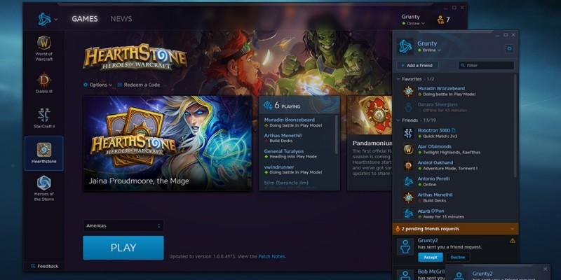World Of Warcraft Battlenet Client Wird Standard Für Alle Blizzard