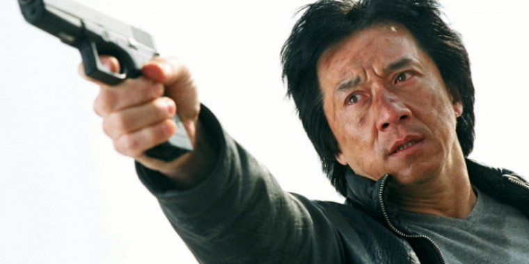 "Jackie Chan in ""New Police Story"" (2004)"