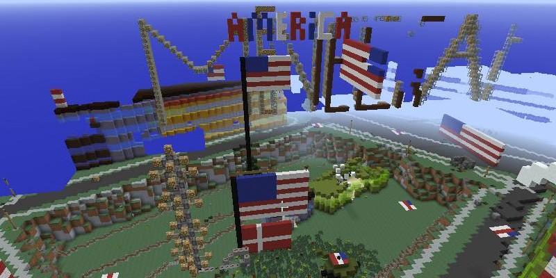 Minecraft USSpieler Zerstören IngameDänemark - Minecraft ingame spiele