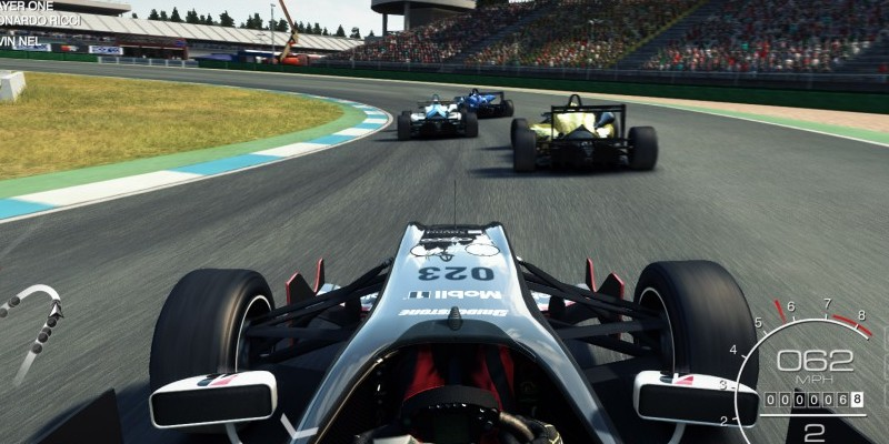Grid Autosport - Open-Wheel-Rennen im Video.