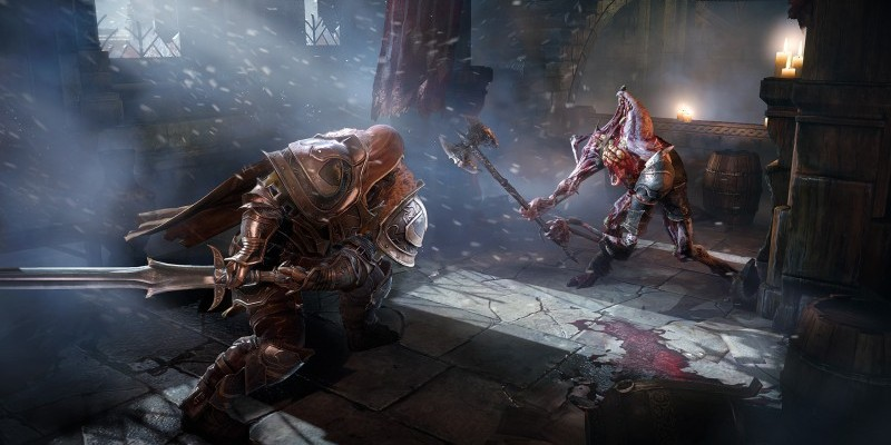Lords of the Fallen: Düsteres Action-Rollenspiel auf E3-Screenshots
