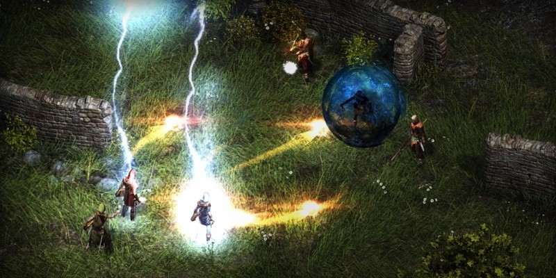 Pillars of Eternity im Gameplay-Video.
