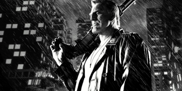 "Mickey Rourke in ""Sin City: A Dame to Kill For"""