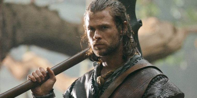 "Chris Hemsworth in ""Snow White & the Huntsmen"" (2012)"