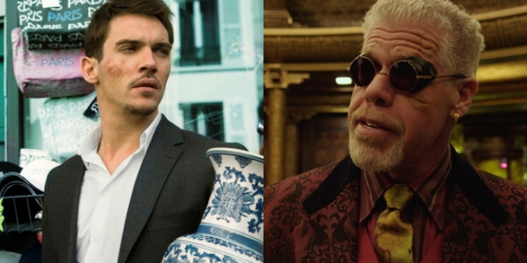 "Jonathan Rhys Meyers in ""From Paris with Love"" (2010) und Ron Perlman in ""Pacific Rim"" (2013)"