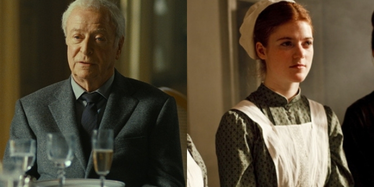 "Michael Caine in ""Mr. Morgan's Last Love"" und Rose Leslie in ""Downton Abbey"""