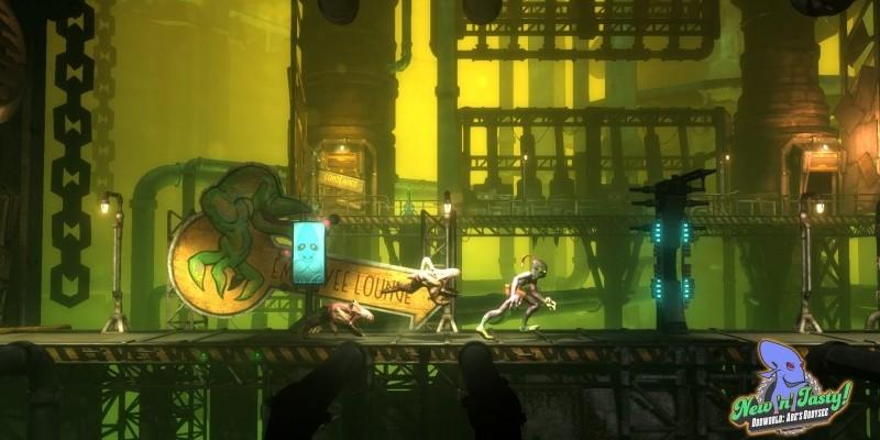 Oddworld: New'n'Tasty - Launch-Trailer zur übermorgen erscheinenden on