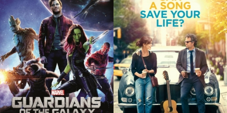 """Guardians of the Galaxy "" und ""Can a Song Save Your Life?"" laufen ab 28. August im Kino."