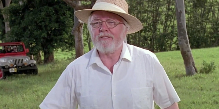"Richard Attenborough in ""Jurassic Park"" (1993)"