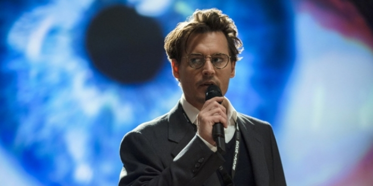 "Johnny Depp in ""Transcendence"" (2014)"