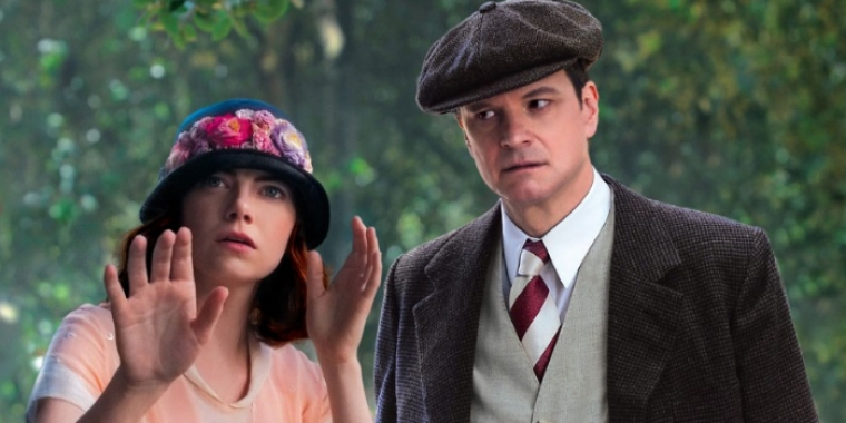 "Emma Stone und Colin Firth in ""Magic in the Moonlight"" (2014)"
