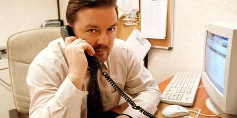 "Ricky Gervais in ""The Office"" (2001-2003)"