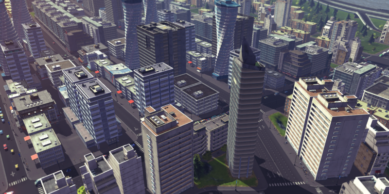 Cities: Skylines - Video mit geschnittenen Szenen. (2)