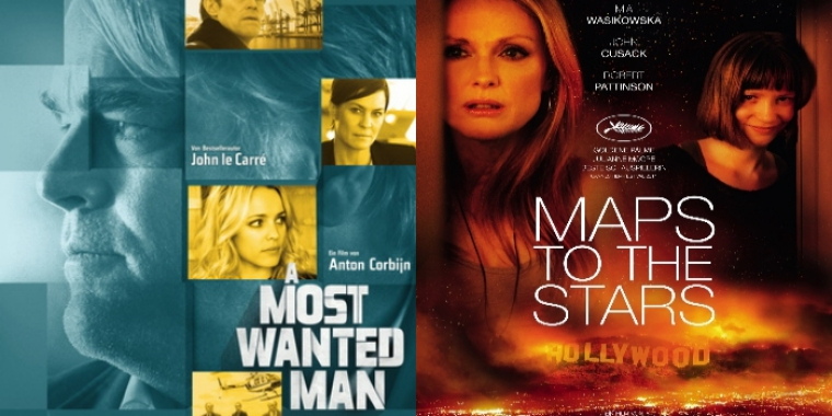 """A Most Wanted Man"" und ""Maps to the Stars"" laufen ab 11. September im Kino."