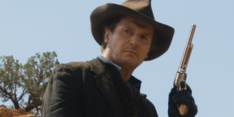 "Liam Neeson in ""A Million Ways to Die in the West"" (2014)"
