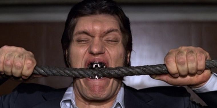 "Richard Kiel in ""James Bond 007: Moonraker - Streng geheim"" (1979)"
