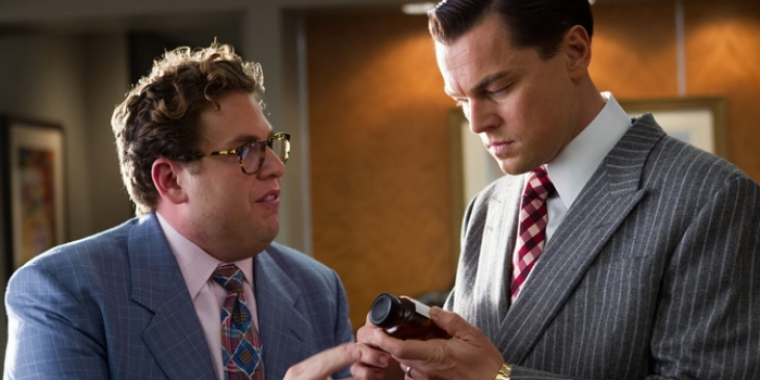 "Jonah Hill und Leonardo DiCaprio in ""The Wolf of Wall Street"" (2013)"