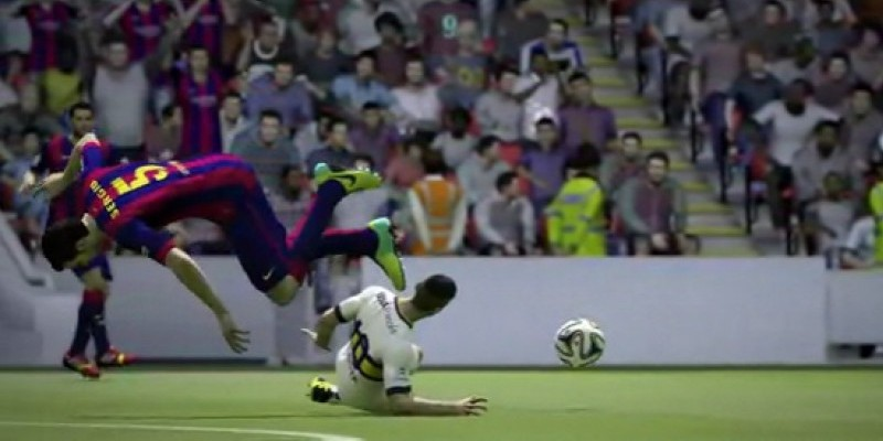 FIFA 15 - Kuriose Bugs und Glitches im Video.