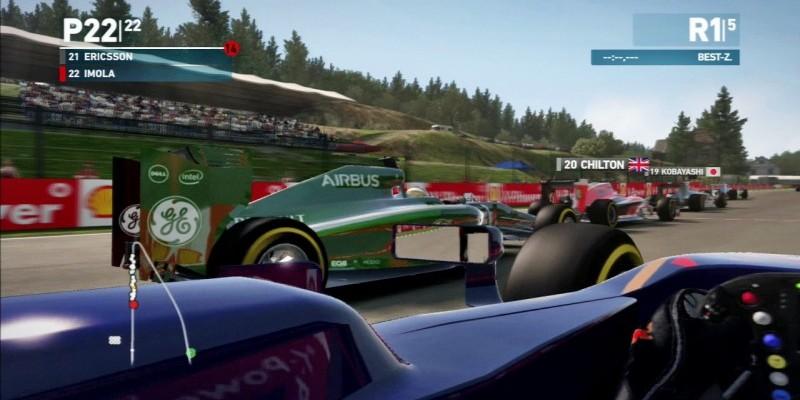F1 2014 im Test für PS3: Grundsolides Rennspiel für Fans der
