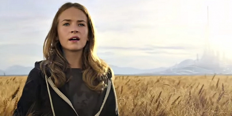 "Britt Robertson als Casey Newton in ""Tomorrowland"""