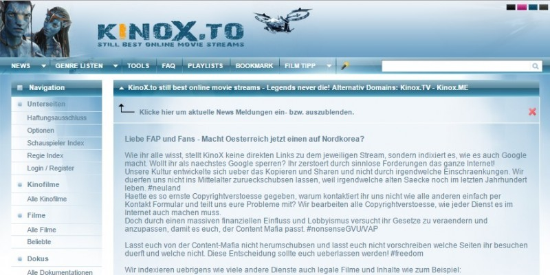 Kinox.To Aktuell