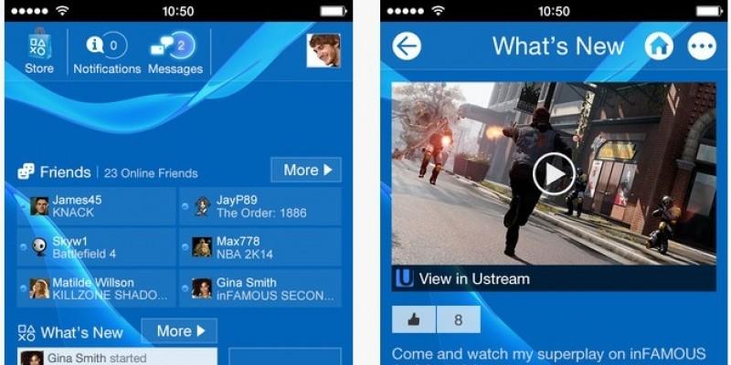 PS4: App 2 0 ab sofort für iOS und Android zum Download
