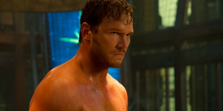"Ist nicht Nathan Drake: Chris Pratt. / ""Guardians of the Galaxy"" (2014)"